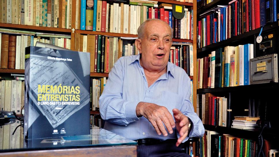 Nilson Jaime escreve poema para Gilberto Mendonça Teles
