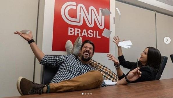 CNN Brasil anuncia contratação de Mari Palma e Phelipe Siani, recém-saídos da Rede Globo