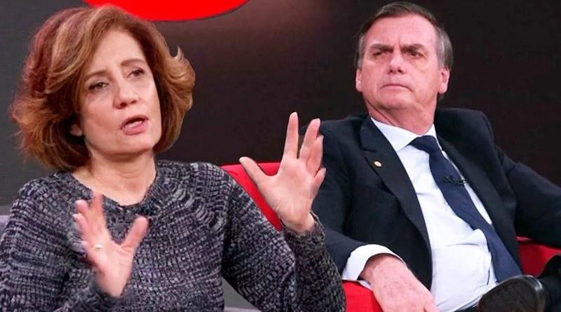 Miriam Leitão queria a ditadura do proletariado mas Bolsonaro erra ao atacá-la