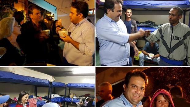 """""""É possível respeitar a vontade deles e ainda oferecer carinho e ajuda"""", diz Roberto Naves ao visitar abrigo"""
