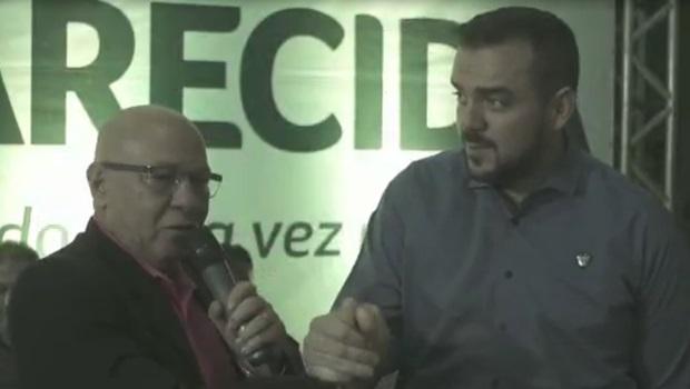 Antigos adversários, Professor Alcides declara apoio a Gustavo Mendanha em Aparecida de Goiânia