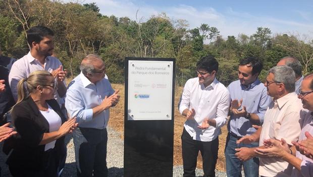 Lançamento do Parque dos Romeiros abre comemorações do aniversário de Trindade