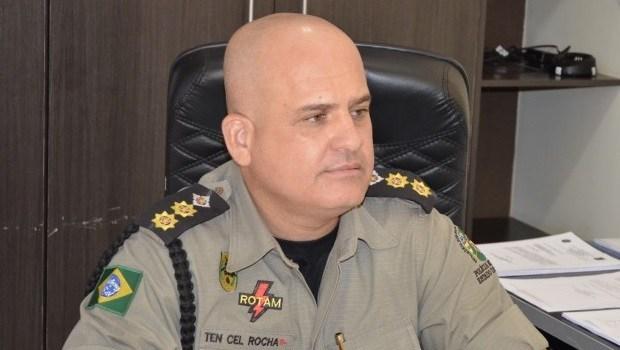 Tenente-coronel Ricardo Rocha está internado com Covid-19