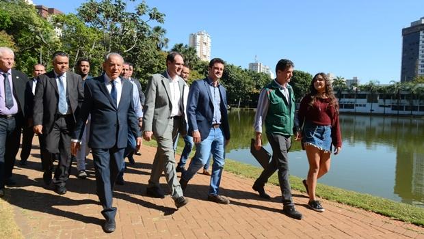 Alego e prefeitura de Goiânia apresentam projeto de revitalização do Bosque dos Buritis