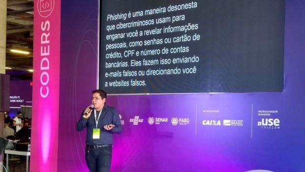 Ex-aluno da Faculdade Senac ministra palestra de TI na Campus Party Goiânia
