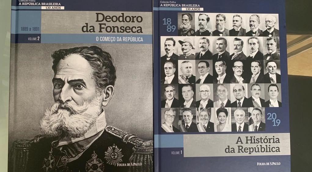 Folha de S. Paulo lança livros sobre a República a partir da biografia de presidentes