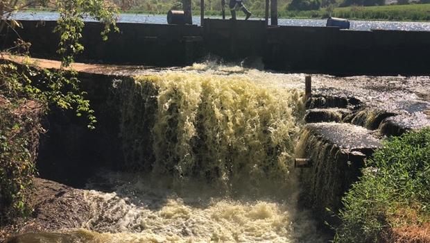 Governo abre segunda barragem para reequilibrar vazão no Meia Ponte