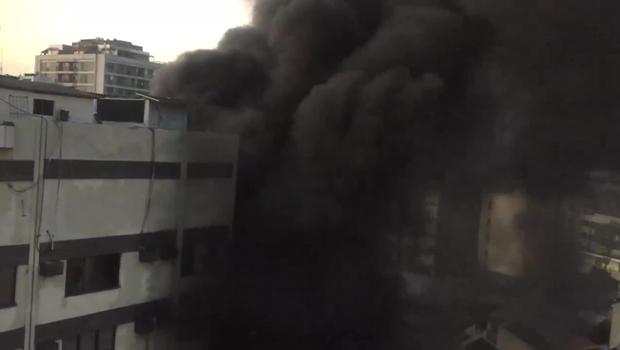 Confirmado: Gerador provocou incêndio no hospital do Rio de Janeiro