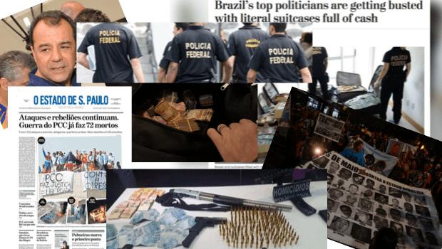 Crime organizado movimenta bilhões e ameaça o Estado brasileiro