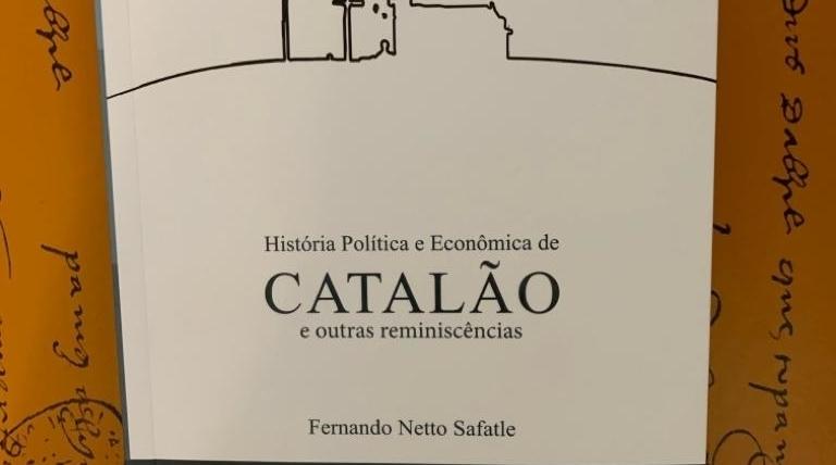 Livro de Fernando Safatle examina e revisa história política e econômica de Catalão