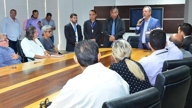 Presidente da Assembleia propõe parceria à imprensa na divulgação das ações parlamentares