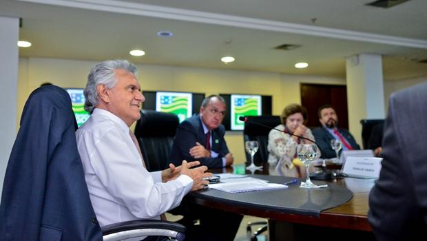 Caiado conhece programa de assistência que visa reinserção social de detentos