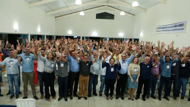 PSDB comemora novas 136 filiações durante encontro regional da sigla, em Itapaci