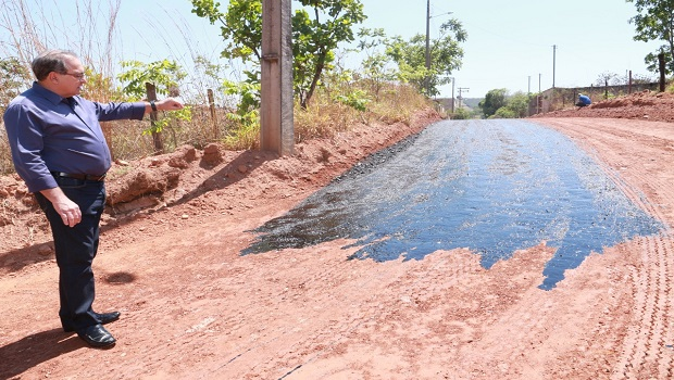 Prefeitura de Trindade avança nas obras de pavimentação asfáltica do Setor Maria Eduarda