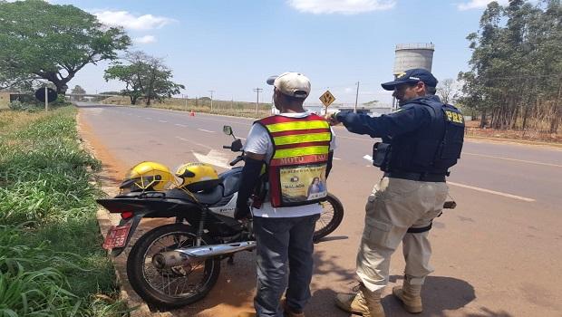 Motoboy com deficiência visual é detido em Itumbiara