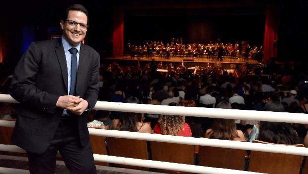 """Na mesma noite, Sesc Goiás lança Banda Sinfônica e projeto """"Quinta Clássica"""""""