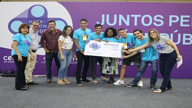 Sistema para tratamento de esgoto é a ideia vencedora do Hackathon em Saúde UFG