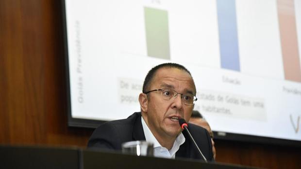 """""""Quadro de pessoal não aumentou, mas despesa cresceu quase 500%"""", diz presidente da Goiasprev"""
