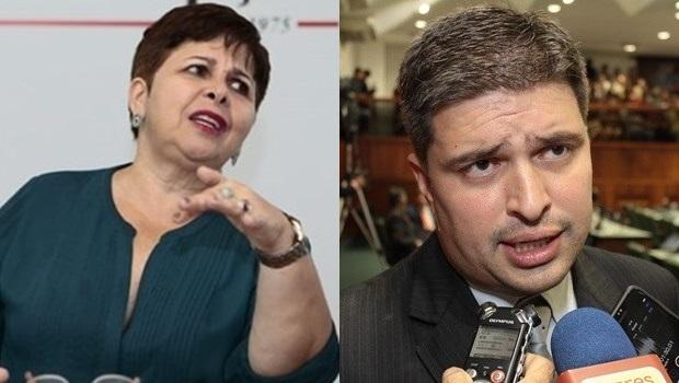 """""""Ele lida com as coisas da Assembleia com o rim, não com o cérebro"""", diz Bia de Lima sobre Humberto Teófilo"""