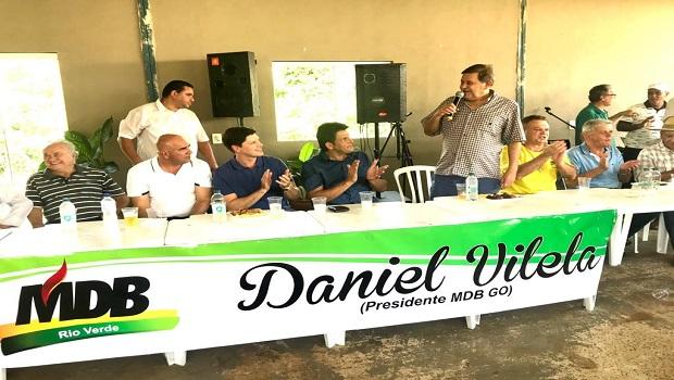 MDB e PSDB podem se unir para montar oposição em Rio Verde