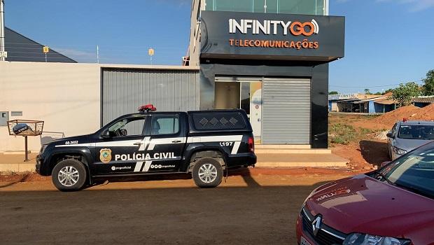 Em Goiás, distribuidora de TV a cabo pirata possuía mais de 7 mil clientes