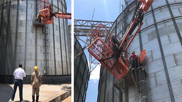 Homem morre após cair em silo cheio de milho em Goianira