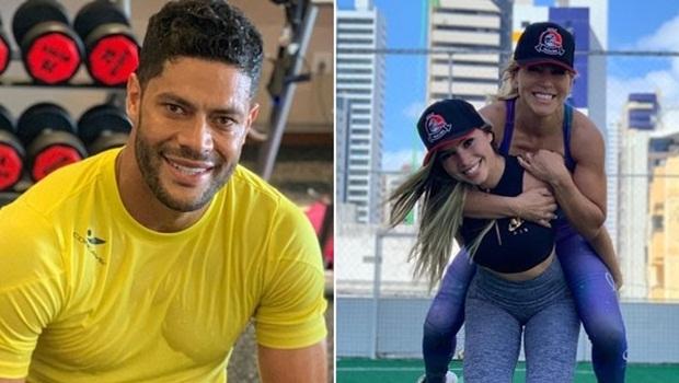 Mãe da atual namorada de Hulk Paraíba apoia a ex do jogador