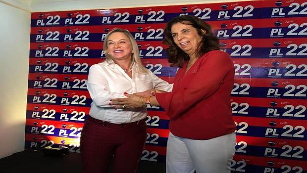 Magda Mofatto banca Cristina Lopes em Goiânia pensando em projeto majoritário