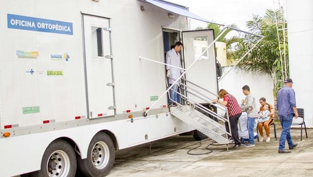 CRER leva dispositivos ortopédicos à população com atendimento itinerante