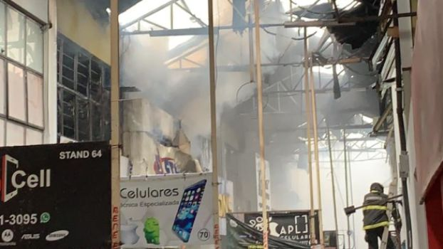 Informações desencontradas dificultam verificação de situação de lojas atingidas por incêndio