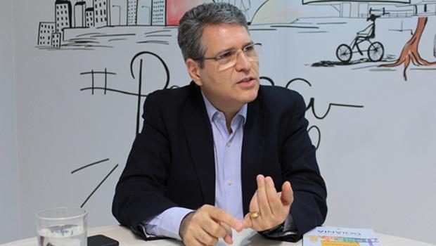 """""""Lançar meu nome não deixa qualquer fissura no projeto político do Vanderlan"""", diz Francisco Jr"""