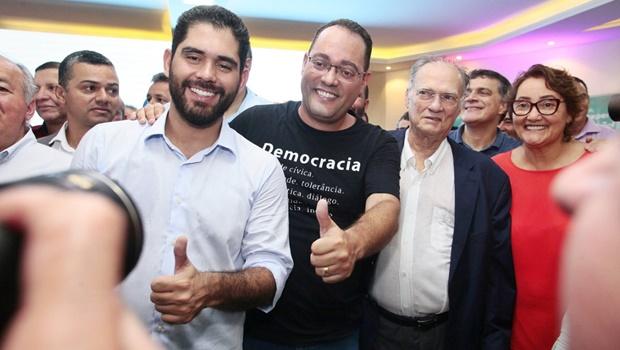 Lideranças nacionais do Cidadania comemoram ida de vice-governador ao partido
