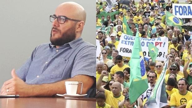 """""""Não existe luta pela democracia com desconstrução de processos democráticos"""", diz analista sobre atos pró-Bolsonaro"""