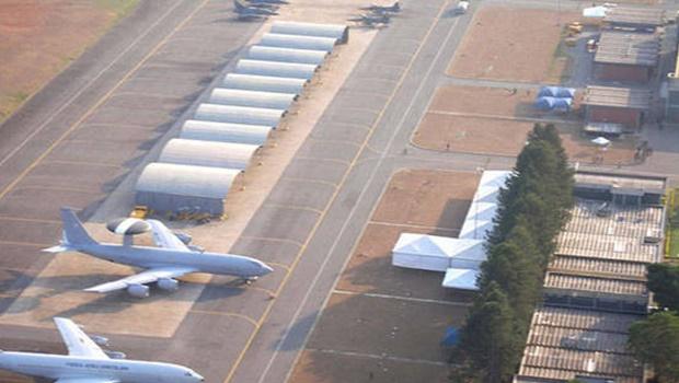 Ministros visitam Base Aérea de Anápolis para inspeção de local destinado a quarentena