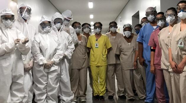Em 10 dias, Hospital de Campanha atendeu mais de 120 pacientes