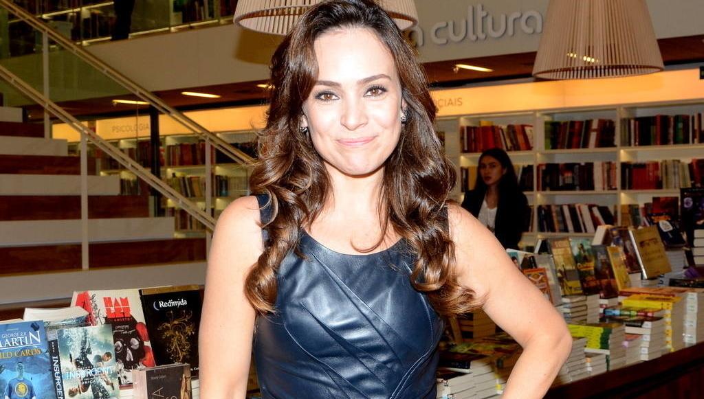A atriz Gabriela Duarte é a nova garota-propaganda do Arroz Cristal. Substitui Regina Duarte