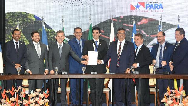 Tocantins ratifica Carta de Belém no 20° Fórum de Governadores da Amazônia Legal