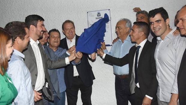 Governador Carlesse inaugura câmpus da Unitins