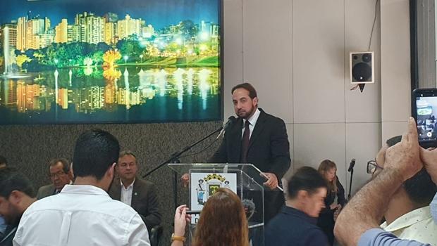 Samuel Belchior toma posse como secretário extraordinário na Prefeitura de Goiânia