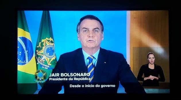 Bolsonaro fará novo pronunciamento nesta quarta-feira, 8