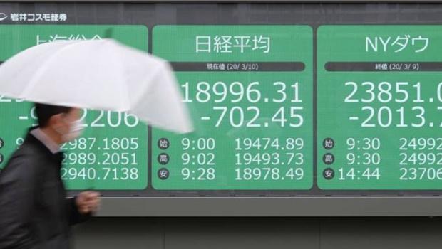 Após dia de caos no mercado global, bolsas e petróleo sobem
