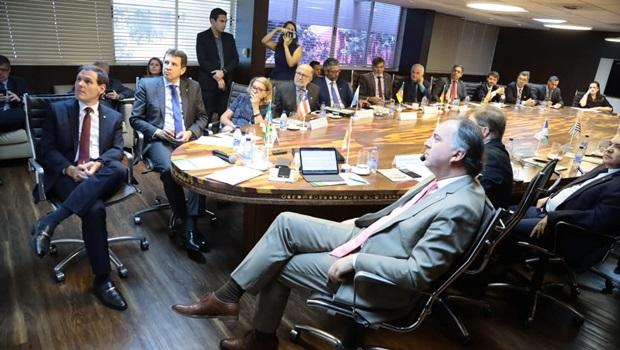 Em Brasília, Lissauer debate compensação financeira de estados e municípios pela Lei Kandir