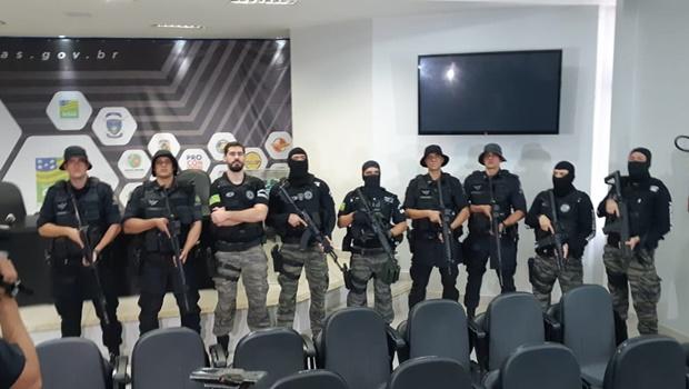 Indicadores mostram redução da criminalidade em Goiás