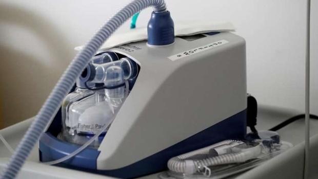 Leitos UTI respirador