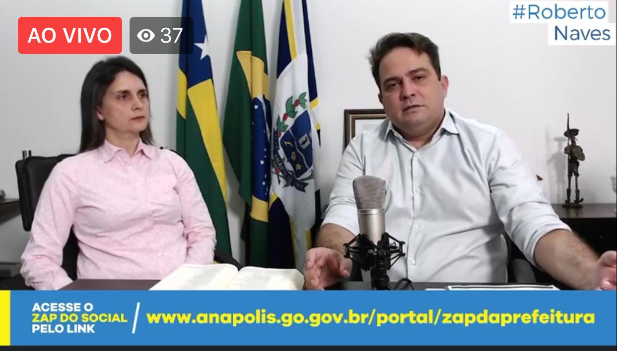 Coronavírus: Roberto Naves apresenta novo decreto nesta segunda