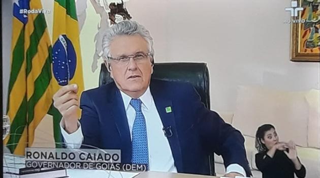 """""""O momento é de discutir como vamos sobreviver"""", defende Caiado"""