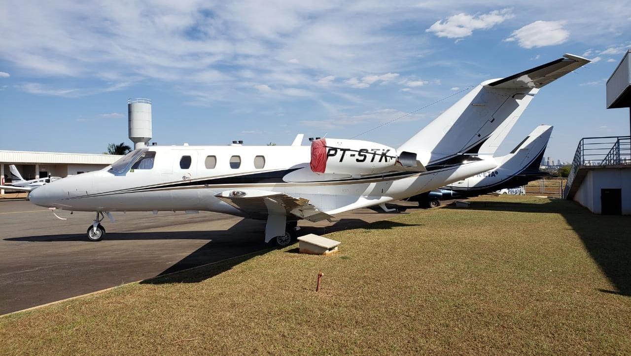 Justiça cede aeronave apreendida pela Polícia Civil ao Estado de Goiás