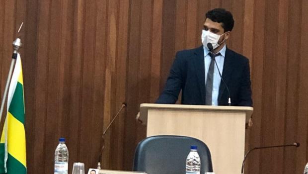 Marden Júnior indica vereador Weslley Bueno como líder do Patriota na Câmara de Trindade