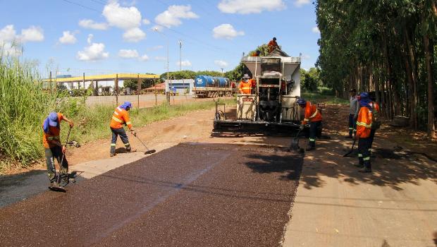 Codego segue com obras de reparo em asfalto de ruas do Daia