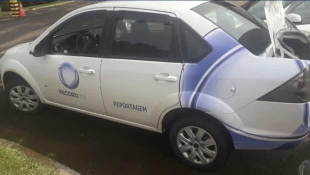 Polícia apreende falso carro de reportagem com 320kg de maconha